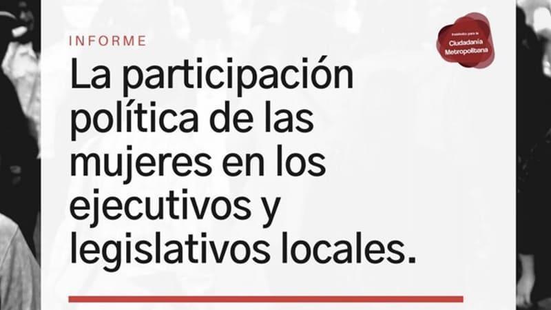 Informe sobre la Participación de las Mujeres en los Gobiernos Municipales de la RMBA